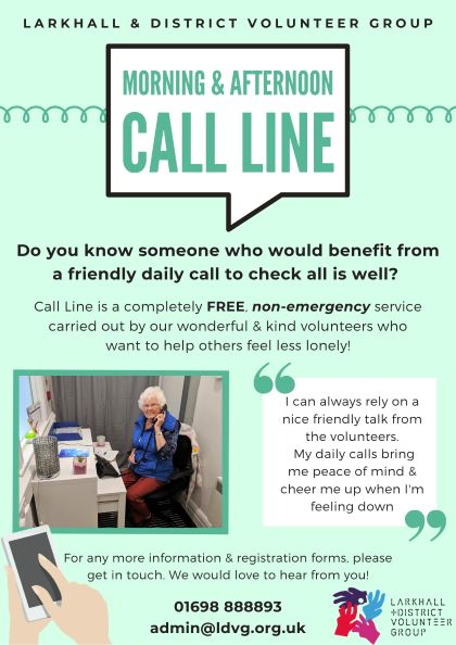 Call Line Poster