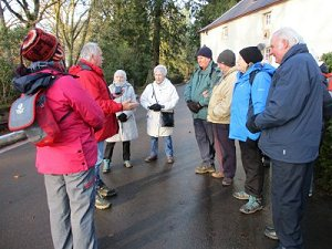 walking group dumfries house